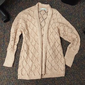 rose gold colored size medium maurices cardi!